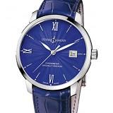 雅典Classico鎏金系列8153-111-2/E3 蓝盘 男士自动机械手表
