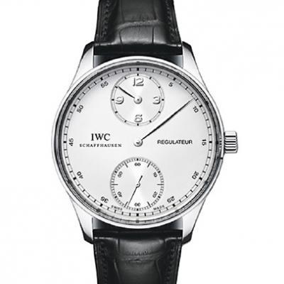 万国IWC 葡萄牙系列IW544403琼斯之剑 白钢 白盘 男士自动机械表