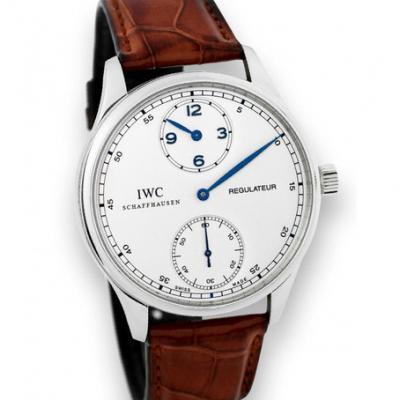 万国IWC 葡萄牙系列IW544401琼斯之剑 白钢 白盘 男士自动机械表