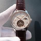 精仿万国陀飞轮手表,万国葡萄牙系列动力日月星辰系列真飞轮 手动上链机械男表