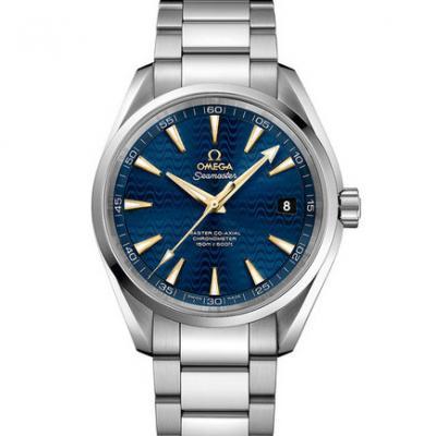 欧米茄海马系列231.10.42.21.03.006 AQUA TERRA 150米 钢带 男士透底自动机械手表