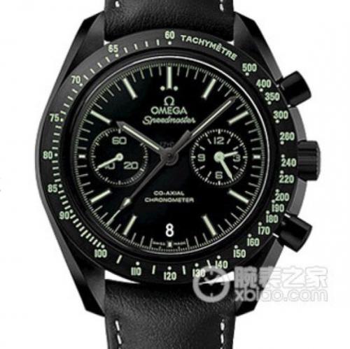 JH欧米茄超霸系列月之暗面新面 机械男士手表