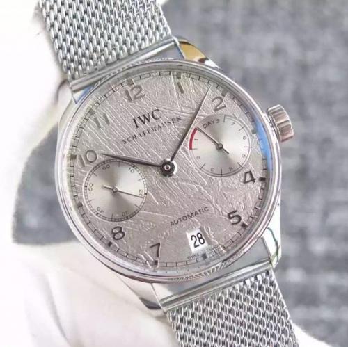 万国复刻手表 YL万国葡七限量版葡萄牙7日链V5版钢带 男表