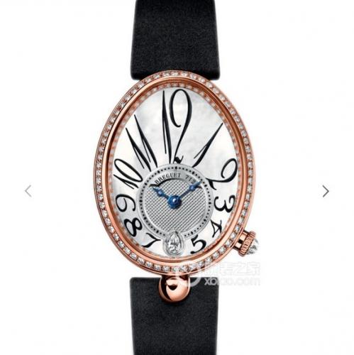 宝玑顶级复刻 TW精仿宝玑那不勒斯皇后系列8918BR/58/864D00D,高品质女士机械腕表