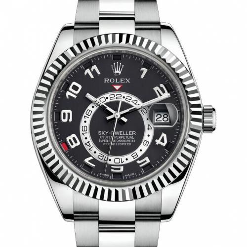 劳力士SKY-DWELLER系列326939黑盘 男士自动机械手表