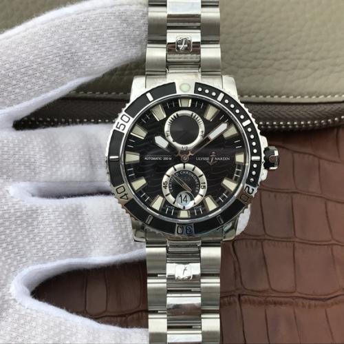 N厂雅典潜水系列263-90航海男士腕表手表