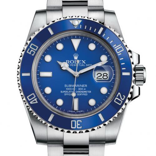 劳力士ROLEX潜行者男表 蓝水鬼116619LB-97209 蓝色水鬼 自动机械男士手表