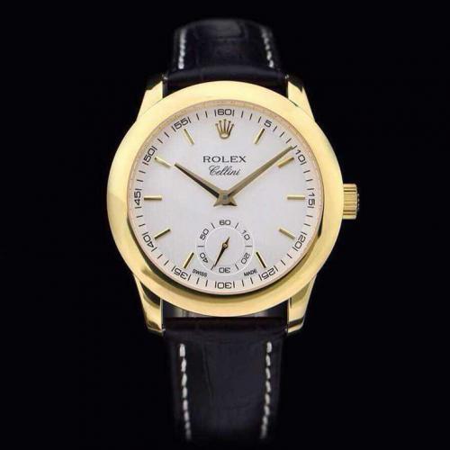 劳力士(ROLEX)切利尼系列(6种款式)18K包金 男士自动机械表手表 高端男士腕表