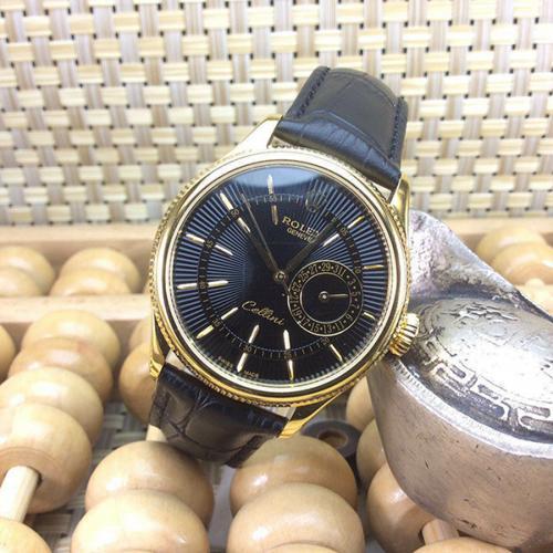 【爆款专供】劳力士(ROLEX)切利尼系列 18K金  男士自动机械表手表 高端男士腕表