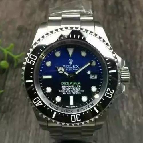 【高端专供】劳力士(ROLEX)海使型系列116660-98210  水鬼王蓝盘 男士自动机械表 大表盘腕表