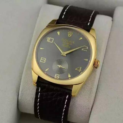 劳力士(ROLEX)切利尼系列 18K金 男士自动机械表手表 高端男士腕表