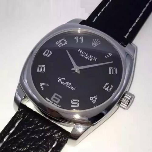 劳力士(ROLEX)切利尼系列(3种款式) 18K玫瑰金 男士自动机械表手表 高端男士腕表