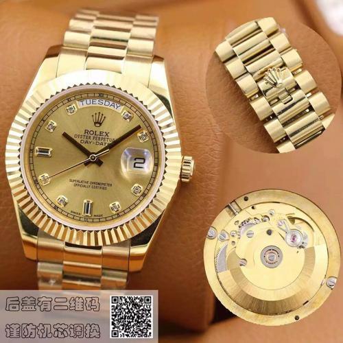 劳力士(ROLEX)经典  18K金  男士自动机械表手表 高端男士腕表