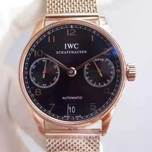 万国手表复刻哪家好 YL万国葡七限量版葡萄牙7日链V5版钢带 男表