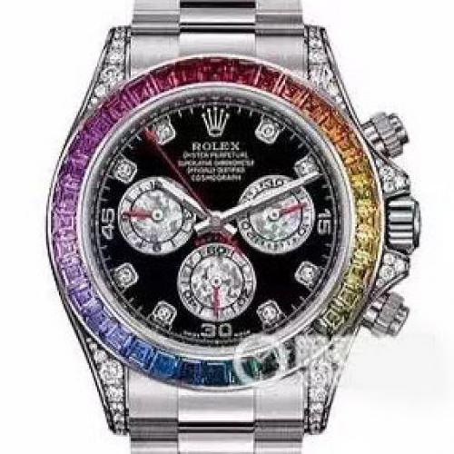 劳力士ROLEX男表宇宙计型迪通拿系列116599 RBOW满天星腕表 男士自动机械手表