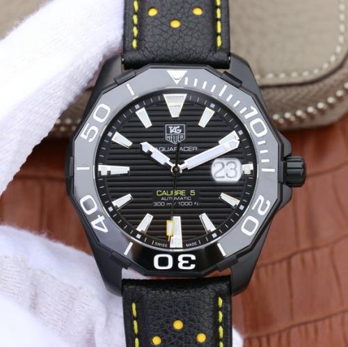 高仿泰格豪雅手表 V6复刻泰格豪雅(TagHeuer)竞潜系列CALIBE5 男表