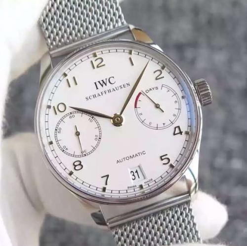 万国手表精仿价格 YL万国葡七限量版葡萄牙7日链V5版钢带 男表