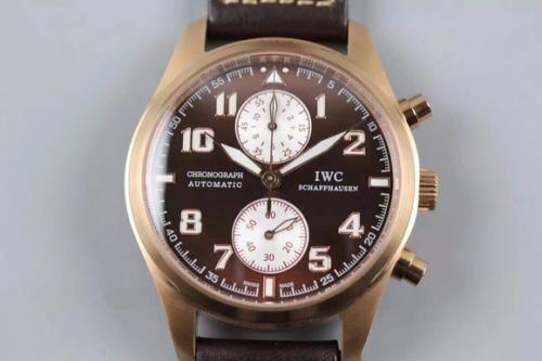 万国手表高防 V6万国iwc飞行员系列超级战机系列 男表