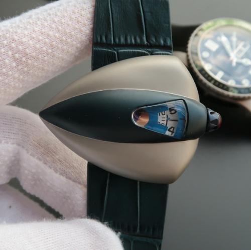 VS 星际迷航 自动机械机芯,男士手表,透底
