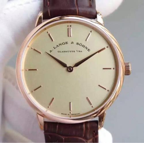 一比一高仿朗格手表 MK朗格萨克森超薄手表