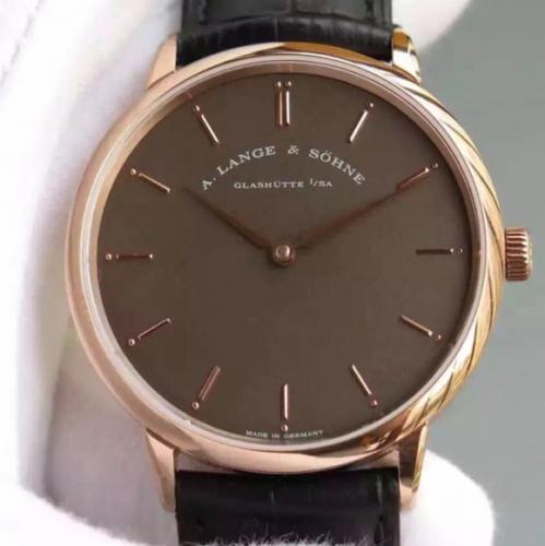 高仿1:1朗格手表 MK朗格萨克森超薄系列男表