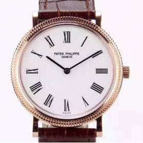 百达翡丽仿镂空全自动手表 N百达菲丽古典表系列5120超薄自动机械表 男表