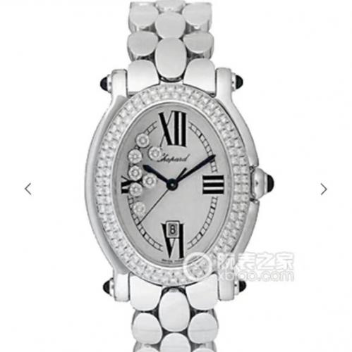 高仿萧邦女表手表 KG仿品萧邦钢带经典HAPPYDIAMONDS系列腕表,原装开模一比一 女表