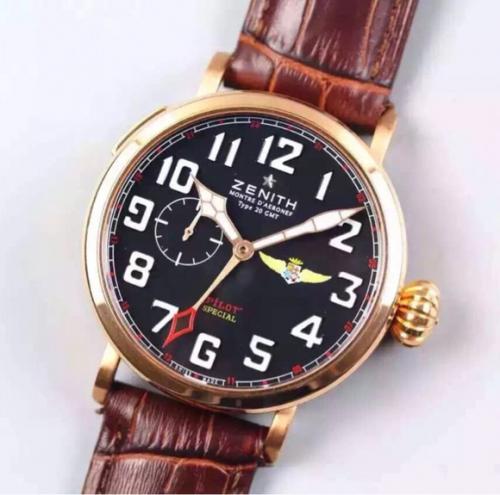 高仿真力时手表怎么样 XF复刻真力时飞行员 大飞洋葱大把头乱真男表