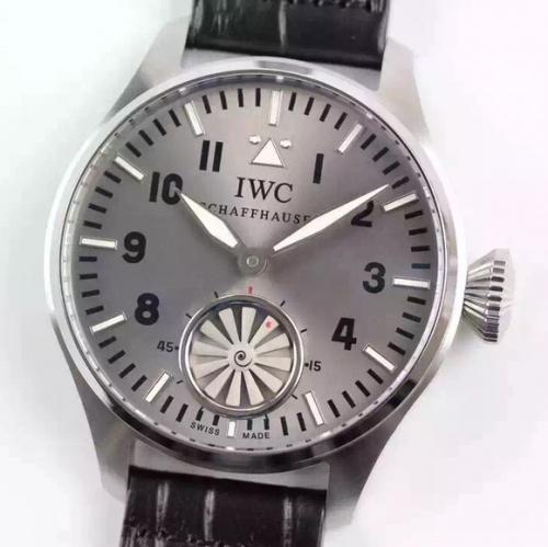 高仿万国男式手表 万国涡轮大飞大型飞行员系列 男表