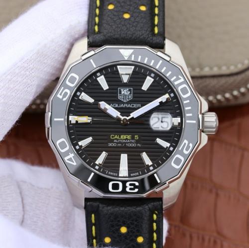 一比一精仿手表泰格豪雅 V6泰格豪雅(TagHeuer)竞潜系列CALIBE5 男士手表