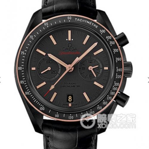 精仿手表专卖 欧米茄 JH欧米茄超霸系列月之暗面新面 机械男士手表