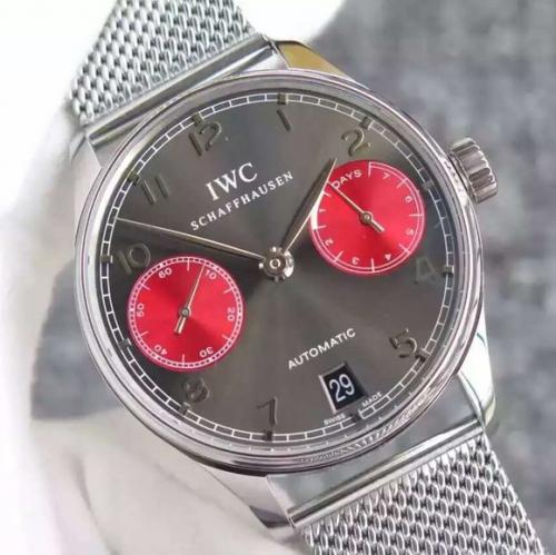 手表 万国复刻版 YL万国葡七限量版葡萄牙7日链V5版钢带 男表