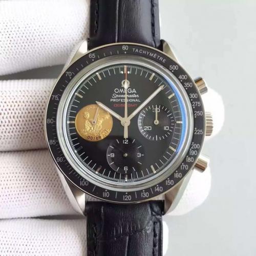 香港高仿欧米茄手表 JH欧米茄超霸登月限量版 机械男士手表