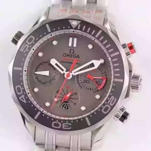 欧米茄手表a货 JH欧米茄CHRONODIVER300M系列腕表 机械男士手表