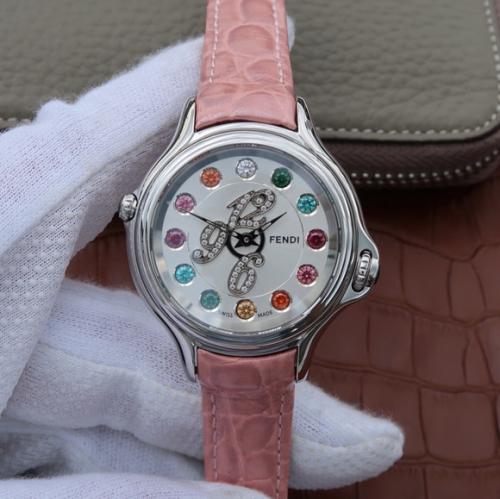 XF芬迪变色珠宝女士手表