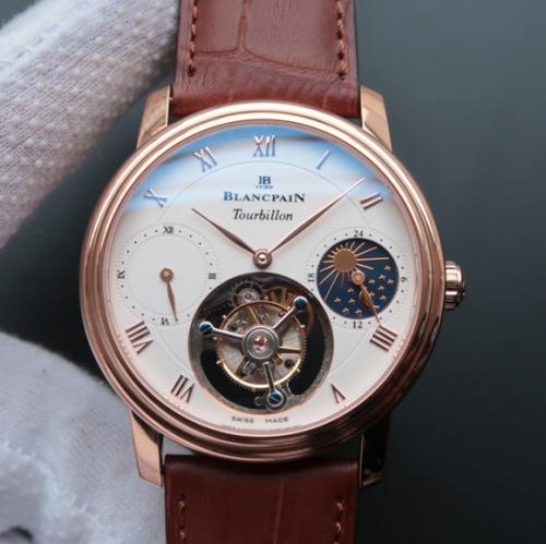 高仿宝珀手表价格 LH宝珀月相真陀飞轮男士腕表 男表