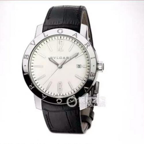 仿真宝格丽102056BB41WSLD N宝格丽BVLGARIBVLGARISOLOTEMPO系列102056BB41WSLD腕表