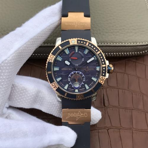 高仿雅典表多少钱 N精仿雅典潜水系列265-90航海男士腕表手表