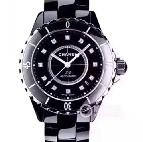 高仿香奈儿H1626 JF复刻香奈儿J12系列H1626中性手表 精仿香奈儿H1626