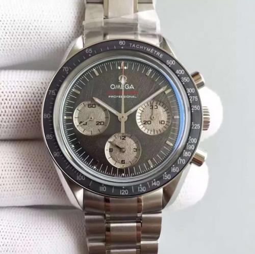 欧米茄a货手表 JH欧米茄超霸登月限量版 机械男士手表