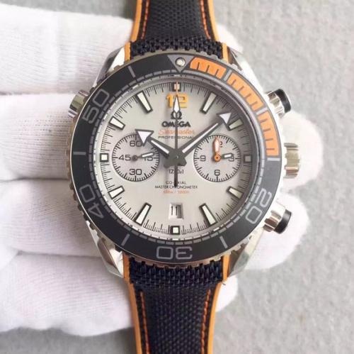 欧米茄有高仿手表价格 JH欧米茄海马600米系列215.32.44.21 机械男士手表