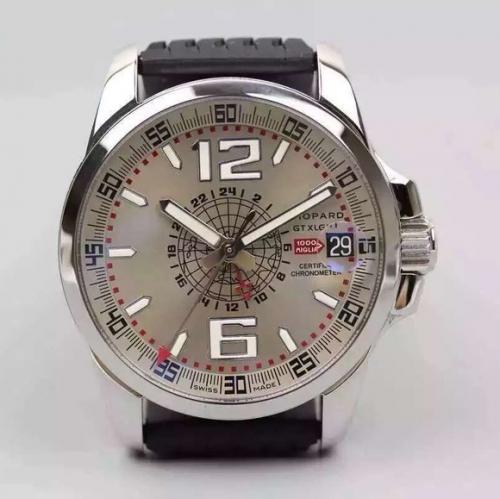 精仿萧邦手表 V6萧邦经典赛车系列168514-3001灰盘 男表