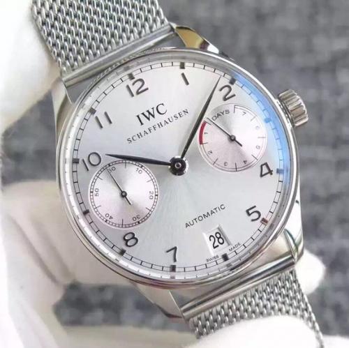 万国高仿手表怎么样 YL万国葡七限量版葡萄牙7日链V5版钢带 男表