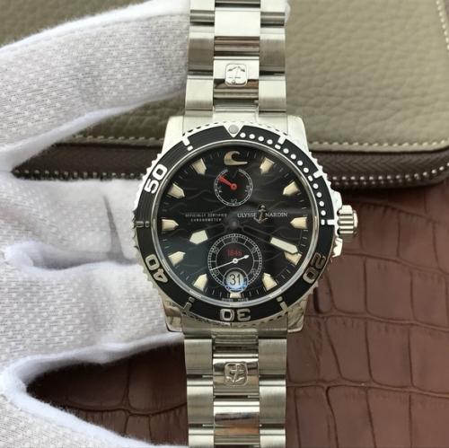 雅典复刻表 N高仿雅典潜水系列263-90航海男士腕表手表