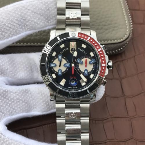 N厂雅典潜水系列8003航海男士手表腕表