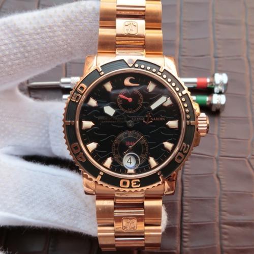 雅典高仿手表价 N雅典航海系列真动能机械机芯男士手表