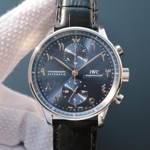 高仿万国手表多少钱 YL万国阿联酋迪拜限量版葡计 男表