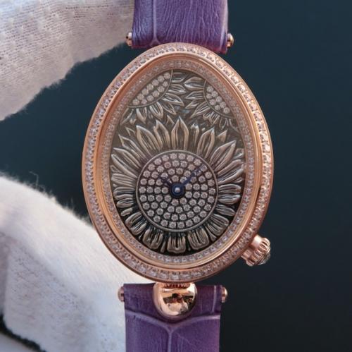 TW厂宝玑那不勒斯皇后系列8958BB/65/974/D00D,高品质女士机械腕表