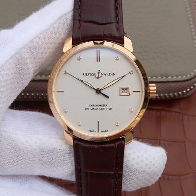FK复刻V2雅典鎏金系列8156-111/90 男士自动机械手表