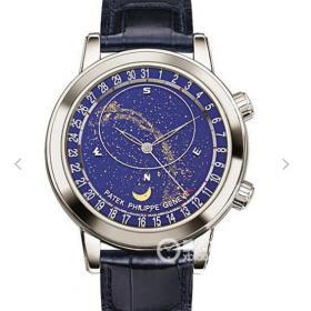 高仿百达翡丽6102 百达翡丽超级复杂功能计时系列6102款 男士手表